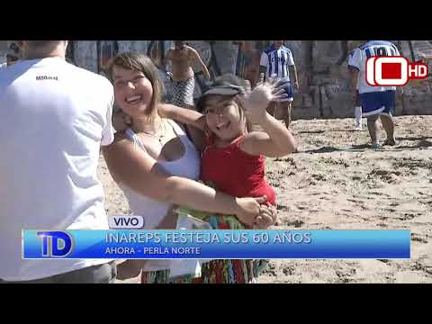 Inareps festejó sus 60 años en un balneario de La Perla