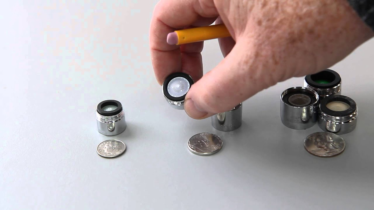 sink faucet aerator assembly. How to Figure out Which Aerator  Faucet Fixture You Need YouTube