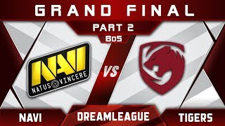 Tigers vs NaVi Grand Final DreamLeague 10 Minor Highlights Dota 2 - [Part 2]
