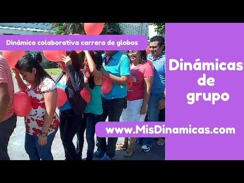 🎈Dinámica de colaboración carrera de globos #colaborativa #competicion #cohesiongrupal
