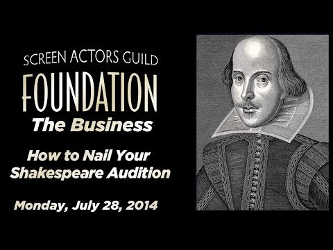 The Business: How to Nail Your Shakespeare Audition