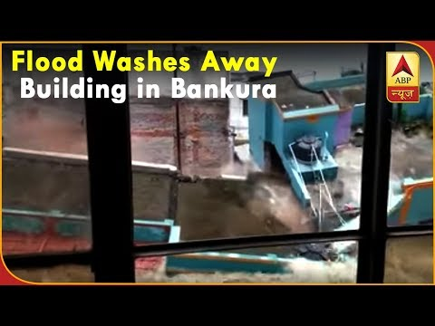 Twarit Dukh: Flood Washes Away Two-Storey Building in West Bengal`s Bankura | ABP News