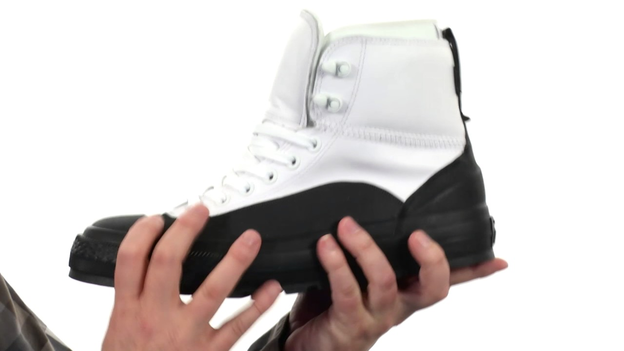 84e30457b09d89 Converse Chuck Taylor® All Star® Tekoa Waterproof SKU 8711611 - YouTube