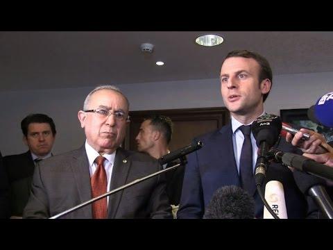 Le président Bouteflika félicite le nouveau président français Emmanuel Macron, un «ami de l'Algérie»