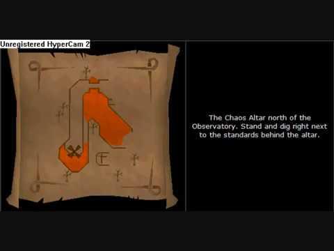 Runescape clue scroll maps were to find them