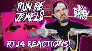 Metalhead Reacts To RUN THE JEWELS RTJ4! Album Reactions/Review!