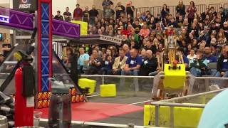 2018 FRC Dallas Regional Finals Match 2 FIRST Robotics POWER UP f2 fm2 #2018txd2