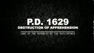 P.D. 1829 - OBSTRUCTION OF APPREHENSION