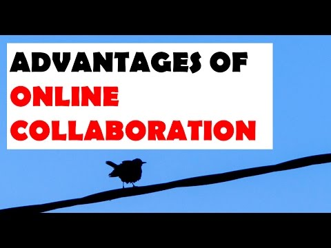 Advantages of Online Collaboration