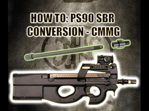 Ps90 For Sale >> How to install PS90 SBR CMMG Conversion Barrel - Remove PS90 Barrel and Shroud. - YouTube