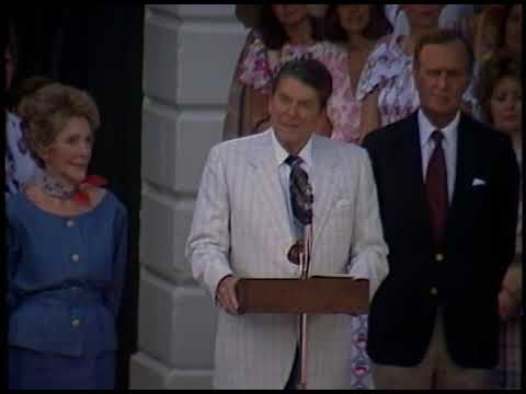 President Reagan's Remarks to Women Appointees on Women's Equality Day on August 26, 1984