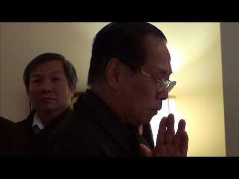 Lễ an táng cố đồng đạo Trần Phú Hữu