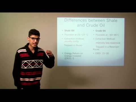 Shale oil: History and Economic Perspective