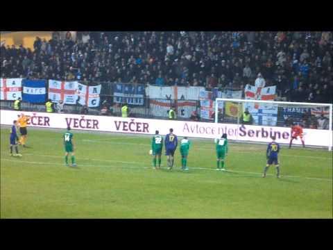 MARIBOR:WIGAN-2:1,Evropska liga,12.12.2013