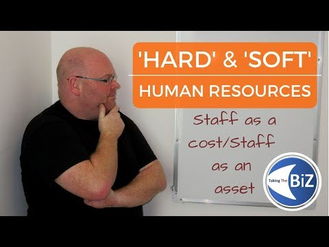 A Level Business Revision - Hard & Soft HR