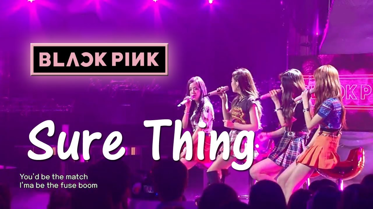BLACKPINK - Sure Thing (Miguel Cover) HQ Audio