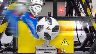 САМЫЙ ТОЧНЫЙ футбольный робот. В лаборатории Adidas. thumbnail