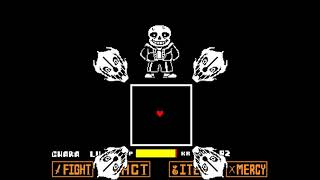 Sans Boss Fight Hard Mode
