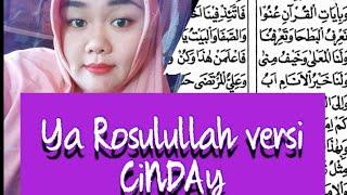 Download belajar sholawat maulid Diba nadhom ya Rasulullah dengan lagu CINDAY...