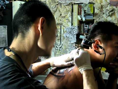 Tattoo studio in Malaysia