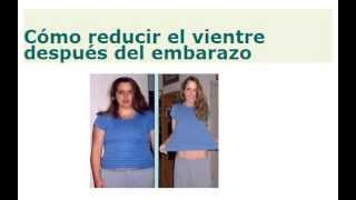 Como bajar de peso rapidamente despues del parto