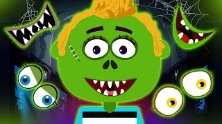 Adivinha o rosto perdido | Guess the Missing Face | Halloween Rhymes by Hoopla Halloween