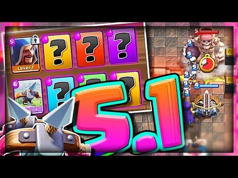 5.1 XBOW DECK WINS!? • Clash Royale