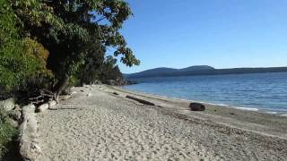 Quiet Beaches on Salt Spring Island, Canada