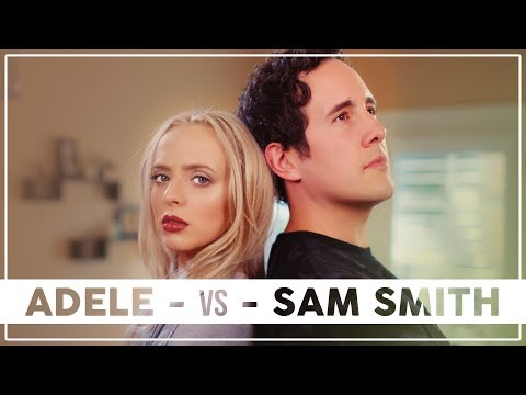 ADELE Vs SAM SMITH Mashup!! Ft. Madilyn Bailey & Casey Breves