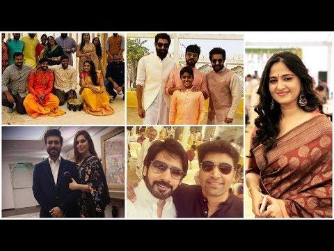 TFI celebrities at SS Rajamouli Son Karthikeya And Pooja Prasad Wedding