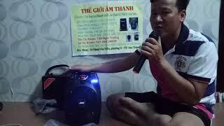 TGAT - Hỏi thăm nhau -  hát thử loa karaoke mini giá rẻ( lh 0918599023)