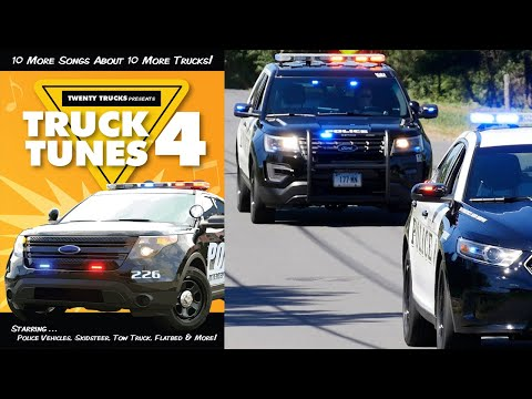 Truck Tunes 4  More truck s for kids  FULL