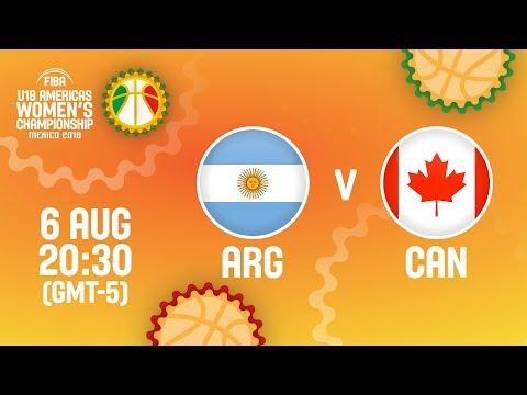 Argentina v Canada - Full Game - Semi-Finals