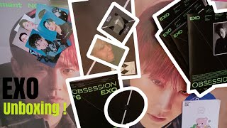 "Baixar Unboxing EXO ""OBSESSION"" the 6th Album (EXO ver.)"