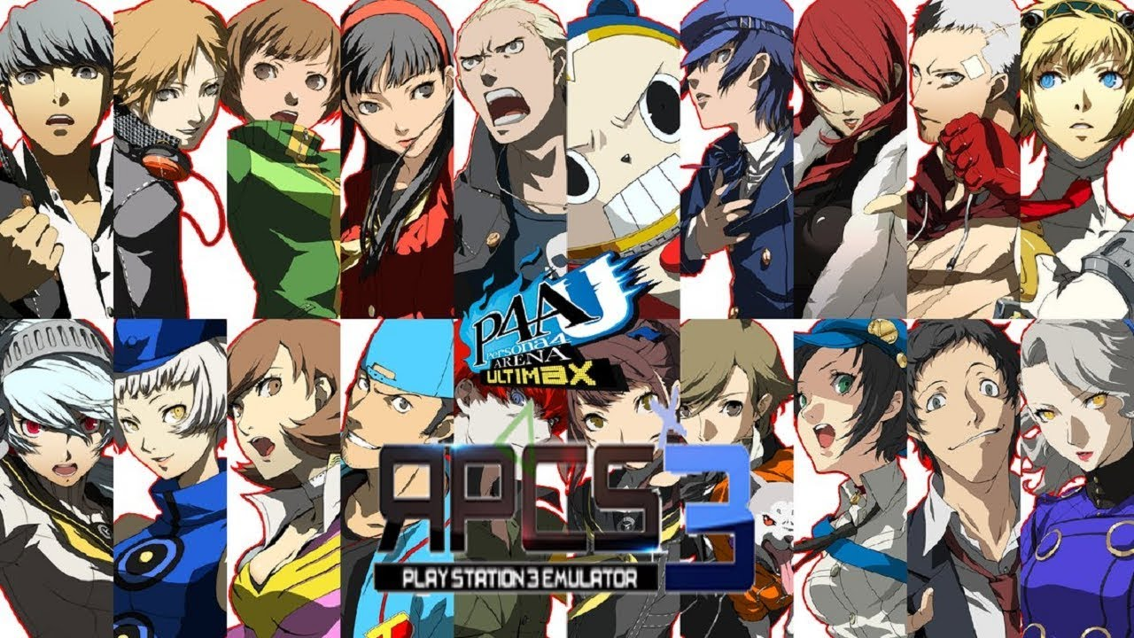 Persona 4 Arena Ultimax - RPCS3 TEST