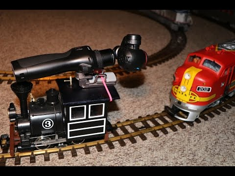 How To Shoot Stabilized Video Of G-scale Model Trains