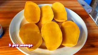MANGO ICE CREAM FILIPINO VERSION ( 3 INGREDIENTS! ) EASIEST WAY!