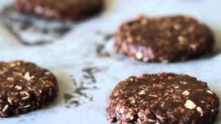 No-bake Chocolate Oatmeal Cookies Recipe 노오븐 초콜릿 쿠키 만들기