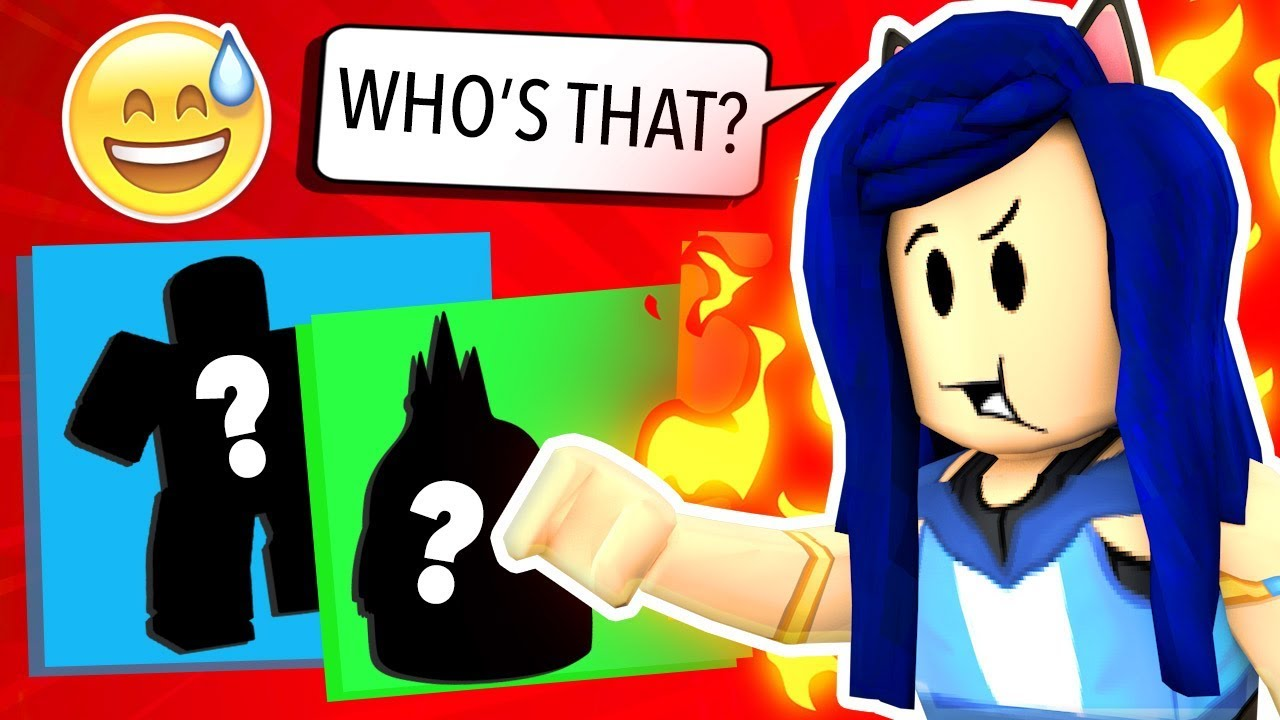 can you guess the character roblox challenge youtube