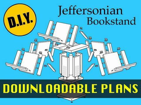 How to Make a Thomas Jefferson (Jeffersonian) Bookstand ...
