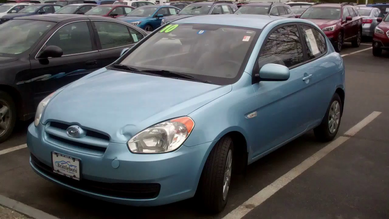 Superb 2010 Hyundai Accent 113K Miles Gets 35 Mpg Hiway