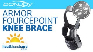 donjoy armor with fourcepoint knee brace