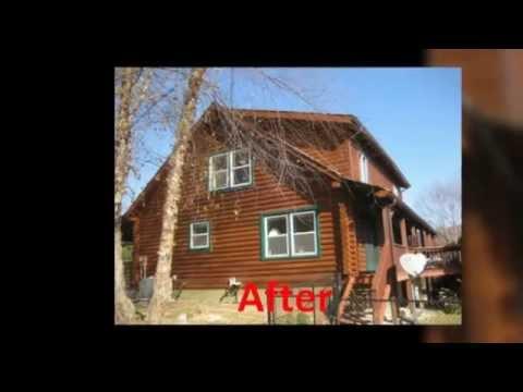 Log Home Restoration Virginia   Log Home Artisan, Inc.