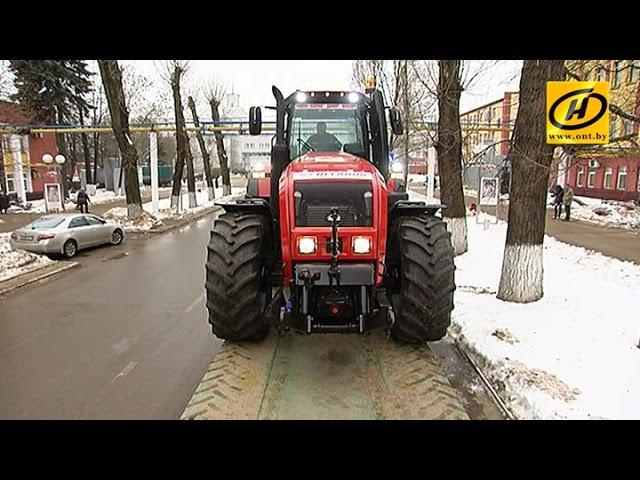На тракторах – по бездорожью: на МТЗ завершилась подготовка к пробегу-испытанию