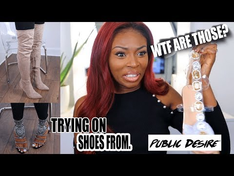UNBOXING SHOES FROM PUBLIC DESIRE....WHAT ARE THOSE? BLACK FRIDAY READY