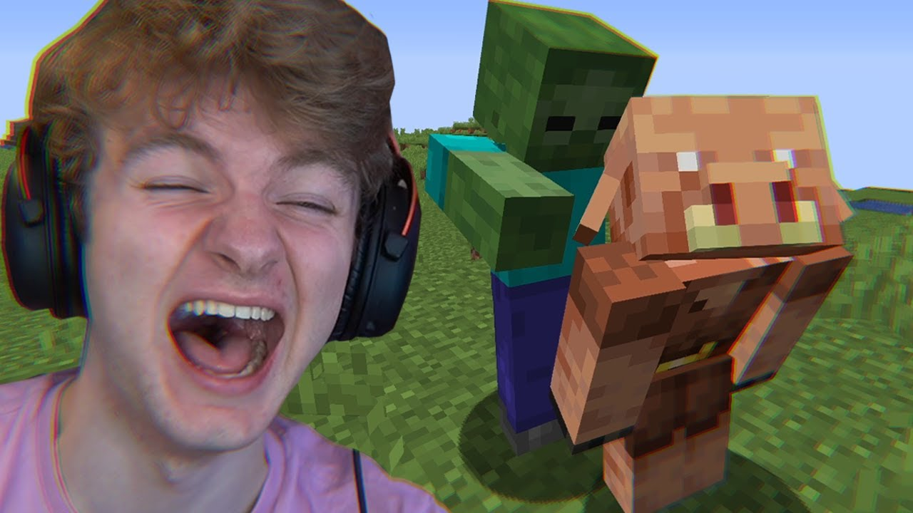 Minecraft's Morph Mod, But If You Laugh You Lose…