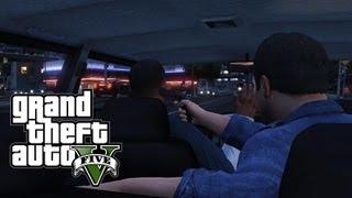 GTA V #4 - Invadindo uma Mansão / Franklin e Michael!? / Racha (GTA 5 em Português PT-BR)