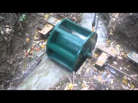 Hurricane Creek Water Wheel 1