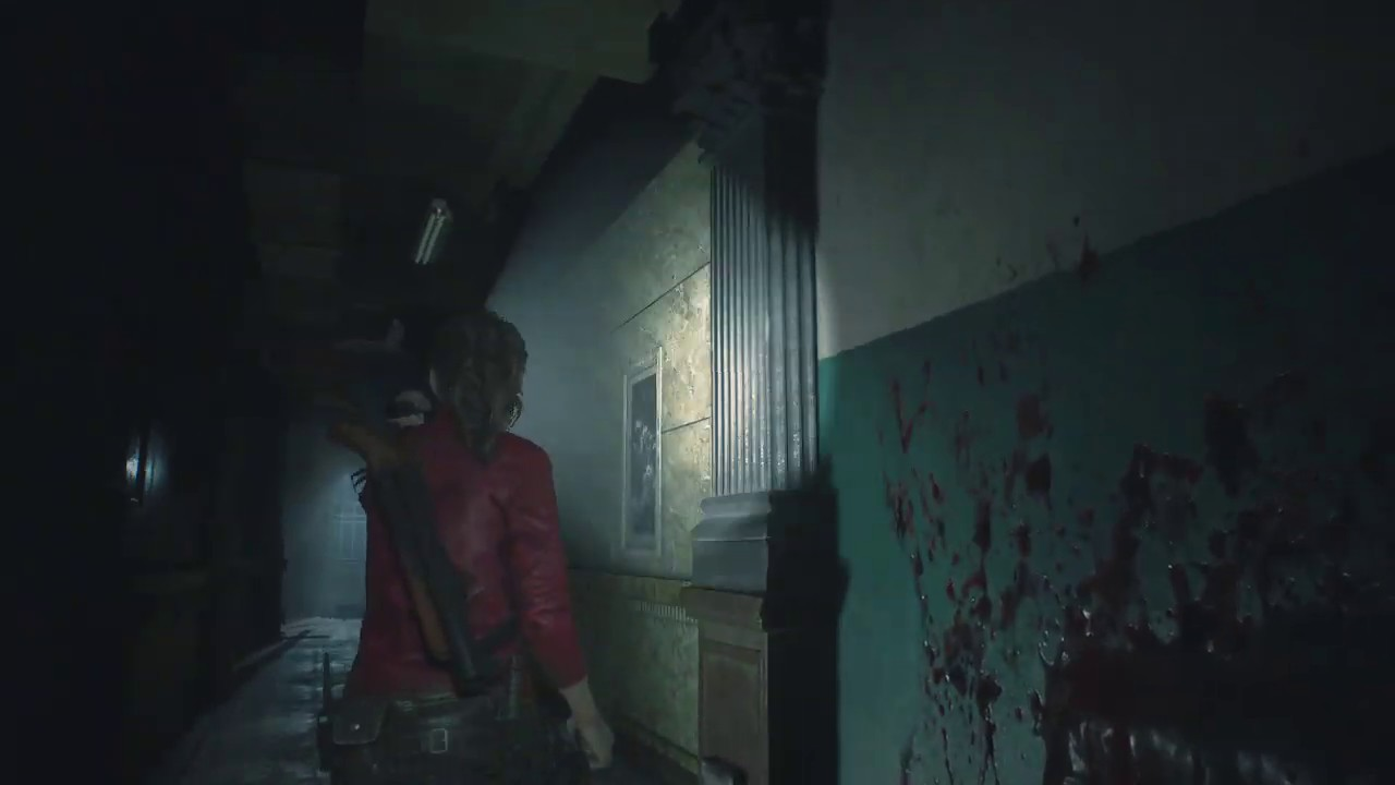 Resident Evil 2 Use Wooden Board That Hold Them