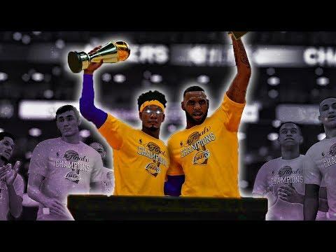 Kobe Mode To Win The NBA Finals | LeBron Celebrated My Finals MVP | NBA 2k19 MyCareer #52